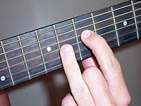 Guitar Chord Am7b5 Voicing 3