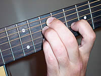 Guitar Chord Am7b5 Voicing 4