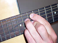 Guitar Chord Am7b5 Voicing 5