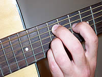 Guitar Chord Am9 Voicing 4