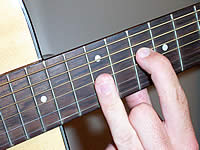 Guitar Chord Am9 Voicing 5
