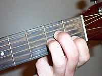 Guitar Chord Am Voicing 1