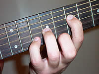 Guitar Chord Am Voicing 3