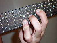 Guitar Chord Amaj7#11 Voicing 4