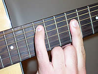 Guitar Chord Amaj9 Voicing 3