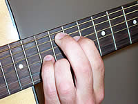 Guitar Chord Amaj9 Voicing 4