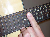Guitar Chord Amaj9 Voicing 5