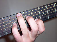 Guitar Chord Amb6 Voicing 3