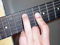 Guitar Chord Amb6 Voicing 4
