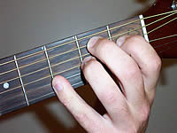 Guitar Chord B+7#9 Voicing 1