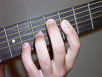 Guitar Chord B+7#9 Voicing 2