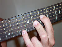 Guitar Chord B+7#9 Voicing 3