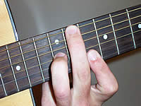 Guitar Chord B+7#9 Voicing 4