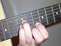 Guitar Chord B+7#9 Voicing 5