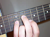Guitar Chord B+9 Voicing 4
