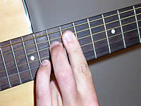 Guitar Chord B+9 Voicing 5