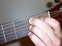 Guitar Chord B7 Voicing 1