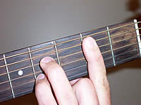Guitar Chord B7 Voicing 2