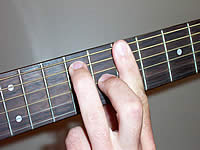 Guitar Chord B7 Voicing 3
