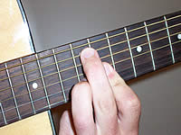 Guitar Chord B7 Voicing 5