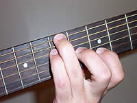 Guitar Chord B9sus4 Voicing 2