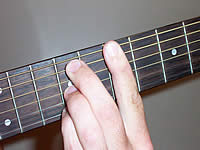 Guitar Chord B9sus4 Voicing 3