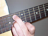 Guitar Chord B9sus4 Voicing 5