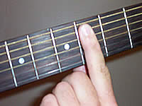 Guitar Chord Badd9 Voicing 1