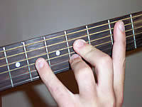 Guitar Chord Badd9 Voicing 2
