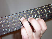 Guitar Chord Badd9 Voicing 3