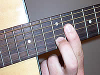 Guitar Chord Badd9 Voicing 4