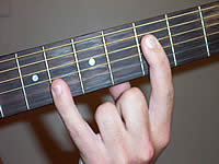 Guitar Chord Bb5 Voicing 2