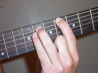 Guitar Chord Bb5 Voicing 3