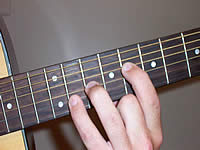 Guitar Chord Bb5 Voicing 4