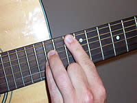 Guitar Chord Bb5 Voicing 5
