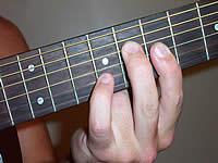 Guitar Chord Bb7b9 Voicing 4