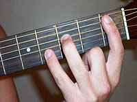 Guitar Chord Bb7sus4 Voicing 1