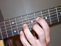 Guitar Chord Bb7sus4 Voicing 4