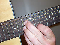 Guitar Chord Bb7sus4 Voicing 5