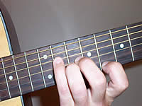 Guitar Chord Bbm9(maj7) Voicing 3