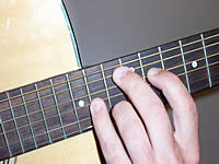 Guitar Chord Bbm9(maj7) Voicing 4