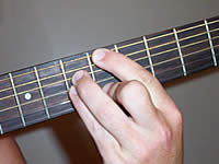 Guitar Chord Bbmaj7 Voicing 3