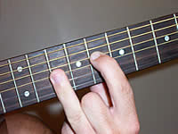 Guitar Chord Bbmaj7 Voicing 4