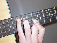Guitar Chord Bbmaj7 Voicing 5