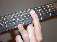 Guitar Chord Bbmaj9 Voicing 2