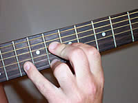 Guitar Chord Bbmaj9 Voicing 3