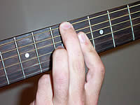 Guitar Chord Bdim7 Voicing 2