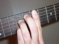 Guitar Chord Bdim7 Voicing 3