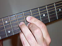 Guitar Chord Bdim7 Voicing 4