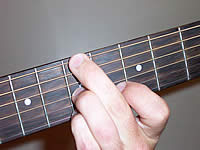 Guitar Chord Bdim Voicing 3